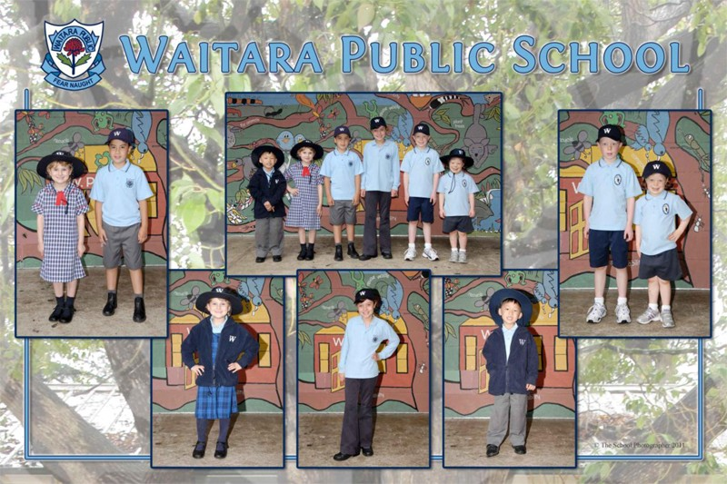 Waitara Public School summer, winter and sport uniforms.