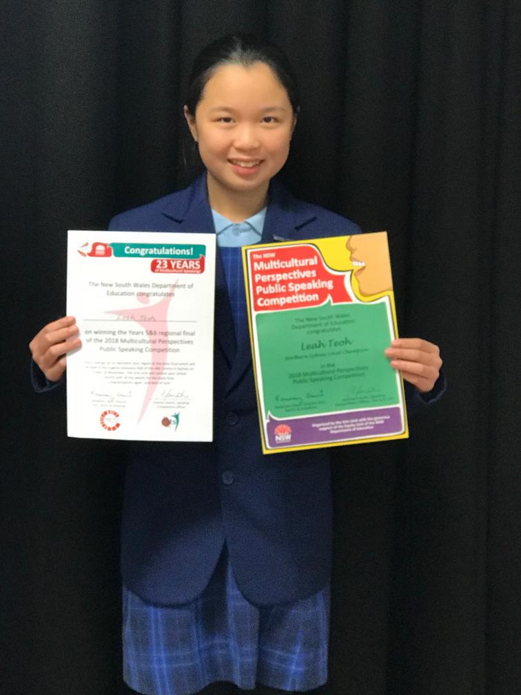 Multicultural Public Speaking Competition - Waitara Public School